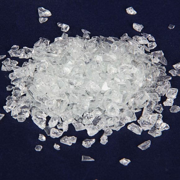 Transparent Crushed Glass CG5