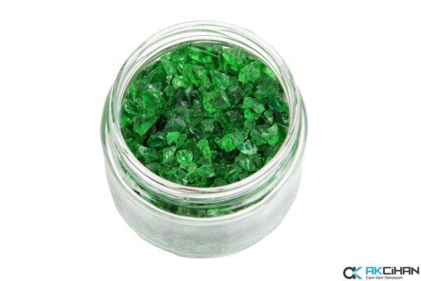 Orijinal Yeşil Cam Granül
