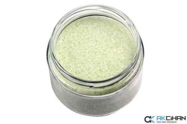 Pastel Yeşil Cam Granül